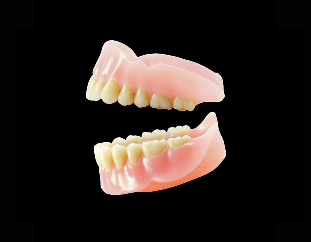 Complete dentures from Jasper Denture Clinic